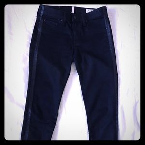 Rag and bone zipper capri tuxedo pants Size 28